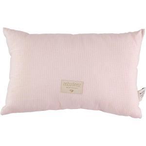 Nobodinoz - N100029 - Coussin Laurel en coton organique 22x35 cm dream pink (389366)