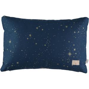 Nobodinoz - N100722 - Coussin Pythagore 40x60 cm gold stella - night blue (389502)