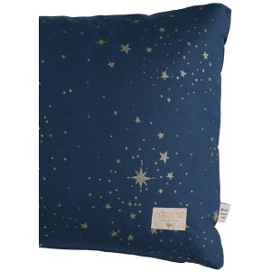 Nobodinoz - N100722 - Coussin Pythagore 40x60 cm gold stella - night blue (389502)