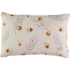 Nobodinoz - N100760 - Coussin Pythagore 40x60 cm sunset eclipse - natural (389508)