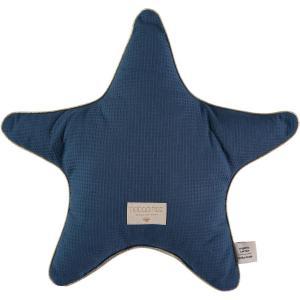 Nobodinoz - N100388 - Coussin Aristote étoile NIGHT BLUE (389598)