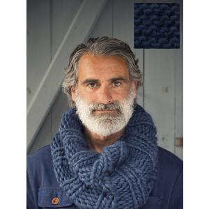 Peace and Wool - KB5FR.27 - Kit à tricoter - Overdoux Blue Marine Français (389882)