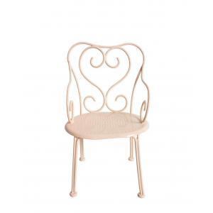 Maileg - 11-4207-02 - Romantic Chair, Mini - Powder (390848)