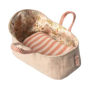 Maileg - 11-8409-00 - Carry cot, My - Rose (390988)