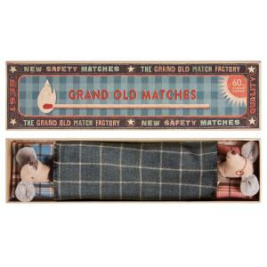 Maileg - 16-6791-00 - Mice, Grandpa & Grandma in Matchbox (391704)