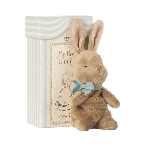 Maileg - 16-7931-00 - My First Bunny in Box, Blue (391846)