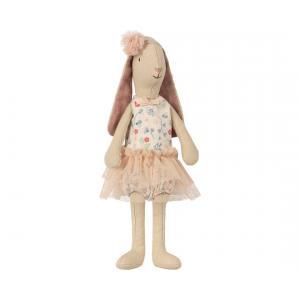 Maileg - 16-8125-01 - Mini light bunny, Flower suit - Rose (391904)