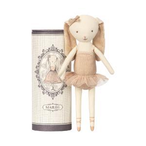 Maileg - 16-8600-00 - Ballerine lapine dansante dans sa boîte -  23 cm (391916)