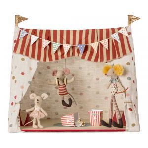 Maileg - 16-8700-00 - Circus, incl. 3 Circus mice (391920)