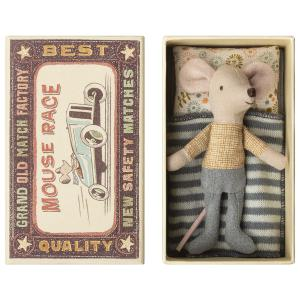 Maileg - 16-8725-01 - Little brother mouse in box - Taille 10 cm - de 0 à 36 mois (391942)