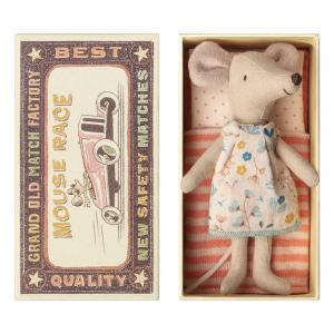 Maileg - 16-8736-01 - Big sister mouse in box (391958)