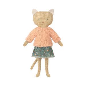 Maileg - 16-8972-00 - Chatons, Kitten - Yellow - Taille 26 cm - de 0 à 36 mois (392080)