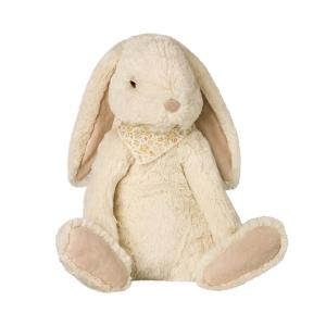 Maileg - 16-8990-02 - Fluffy Bunny, X-Large - Off white (392100)