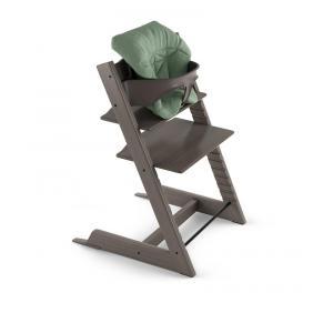 Stokke - 496005 - Coussin bébé Tripp Trapp® Vert intemporel (Coton biologique) (392482)