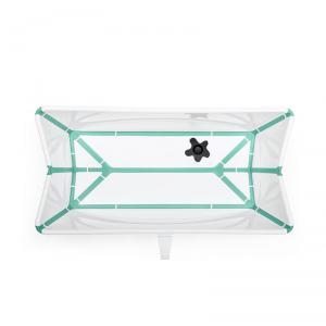 Stokke - 531905 - Baignoire pliante Flexi Bath® Blanc (avec bouchon de vidange réactif à la chaleur) (392536)
