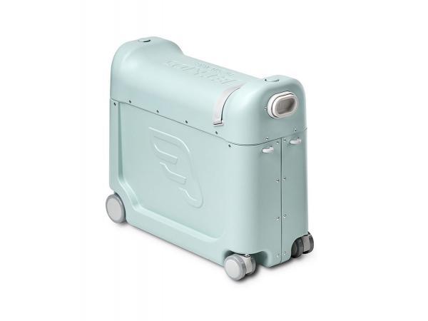 Valise à roulettes bedbox® 2.0 de jetkids™ by stokke (avec matelas de voyage) vert aurore