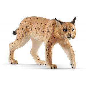 Schleich - 14822 - Figurine Lynx - Dimension : 9,2 cm x 3 cm x 5 cm (392676)