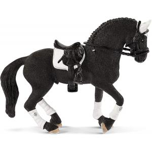Schleich - 42457 - Etalon Frison concours équestre (392722)