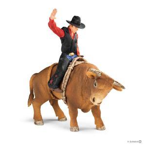 Schleich - 72120 - Cowboy avec un taureau (392760)