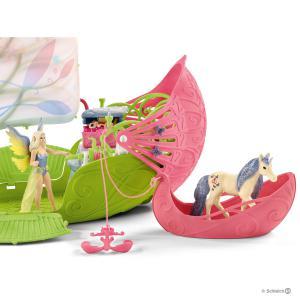 Schleich - 42444 - Bateau magique avec Sera et poulains licornes (392798)