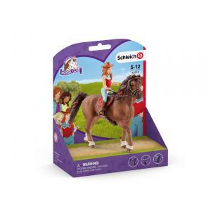 Schleich - 42514 - Horse Club Hannah & Cayenne (392810)