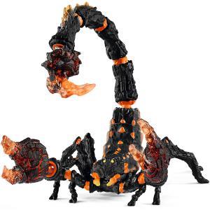 Schleich - 70142 - Figurine Scorpion de lave - Dimension : 20,5 cm x 13,5 cm x 14 cm (392822)