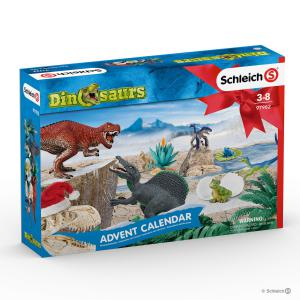 Schleich - 97982 - Calendrier de l'Avent Dinosaures2019 (392846)