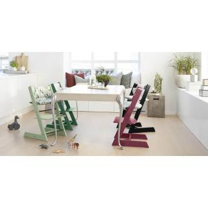 Stokke - BU126 - Pack chaise TRIPP TRAPP Rouge avec Baby Set et tablette (392872)