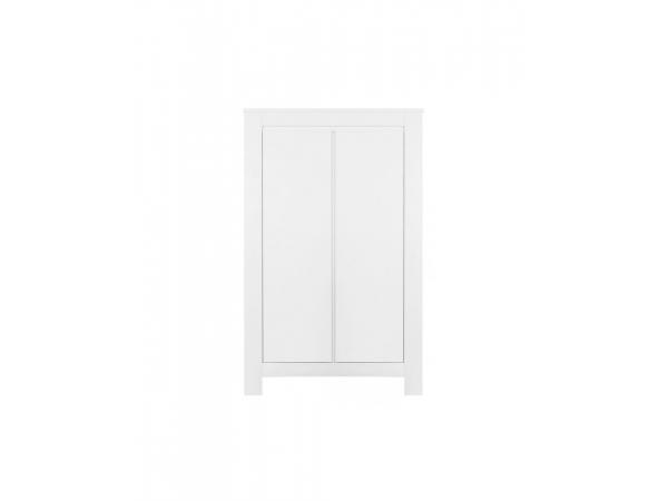 Armoire 2-portes bianco blanc