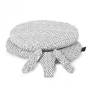 Charlie crane - TIBUKITDIAMONDBW - Habillage de siège TIBU imprimé Diamond noir et blanc (393090)