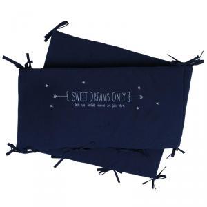 Little Crevette - SWTLb - Tour de lit bleu Sweet Dreams (393198)