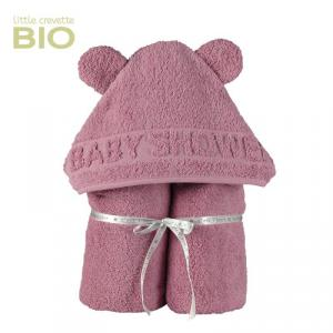 Little Crevette - BSCBr - Sortie de bain  BabyShower rose (393536)