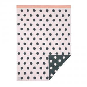 Lassig - 1542001726 - Couverture coton bio Little Chums Étoiles rose clair, 75x100 cm (393970)