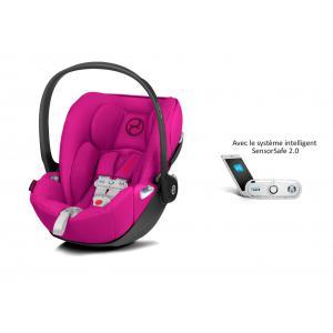 Cybex - 519001581 - Siège auto Cloud Z i-Size avec SensorSafe Passion Pink-rose (394980)