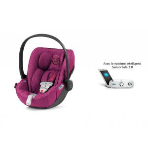 Cybex - 519002989 - Siège auto Cloud Z i-Size Plus avec SensorSafe Passion Pink-rose (394990)
