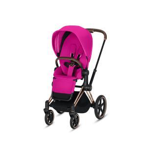 Cybex - 519002327 - Habillage de siège Priam Fancy Pink-violet (395360)