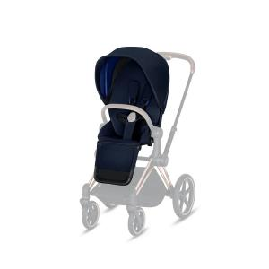 Cybex - 519002323 - Habillage de siège Priam Indigo Blue-marine (395362)