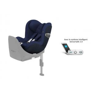 Cybex - 519001671 - Siège auto Sirona Z i-Size avec SensorSafe Midnight Blue-bleu marine (395514)