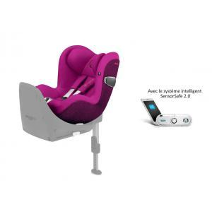 Cybex - 519001677 - Siège auto Sirona Z i-Size avec SensorSafe Passion Pink-rose (395516)