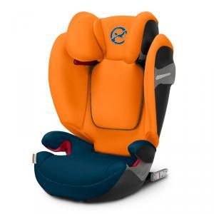 Cybex - 519001061 - Siège auto Solution S-fix Tropical Blue-bleu marine (395550)