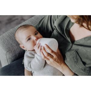 Suavinex - 304591 - Biberon spécial allaitement zerø.zerø 180ml - taille unique allaitement (395610)