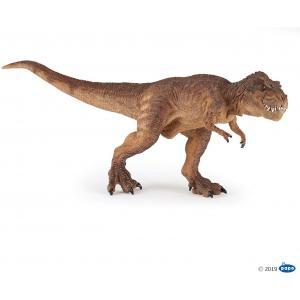 Papo - 55075 - T-rex courant marron - Dim. 32 cm x 7 cm x 13,3 cm (397844)