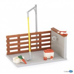 Papo - 60116 - Box de lavage et ses accessoires (397872)