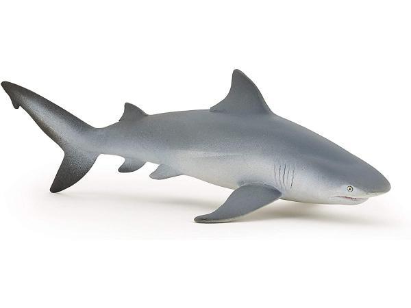 Requin bouledogue - dim. 15 cm x 8 cm x 5 cm