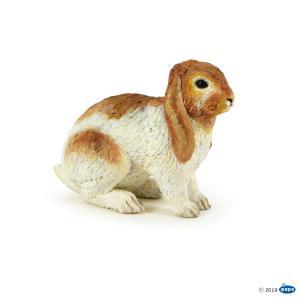 Papo - 51173 - Lapin bélier - Dim. 4,3 cm x 2,5 cm x 4 cm (397892)