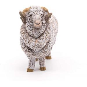 Papo - 51174 - Mouton Mérinos - Dim. 7,4 cm x 3,2 cm x 6,5 cm (397894)