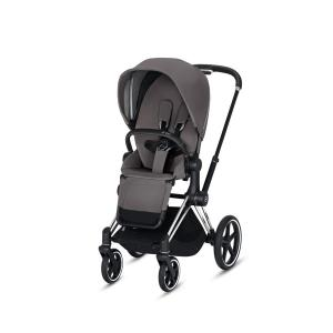 Cybex - BU167 - Poussette Priam 2019  Alu-noir Manhattan Grey (398064)