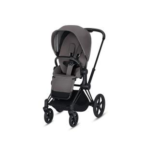 Cybex - BU168 - Poussette Priam 2019  Noir Manhattan Grey (398066)
