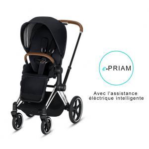 Cybex - BU183 - Poussette ePriam 2019  Alu-marron Premium Black (398096)