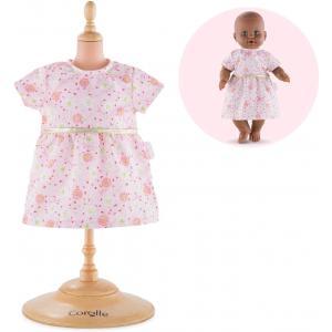 Corolle - 140060 - Vêtements Bébé 36 cm robe rose - Mon Grand Poupon  - age 2+ (398804)